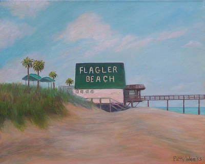 Flagler Beach Florida Poster