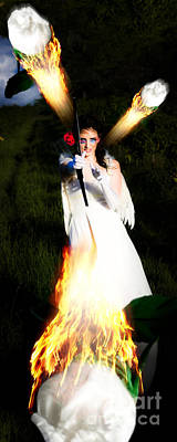 Flame Of Desire Poster by Jorgo Photography - Wall Art Gallery