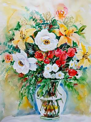 Floral Arrangement IIi Poster