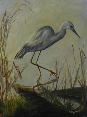 Florida Native Bird On A Fall Morning Poster