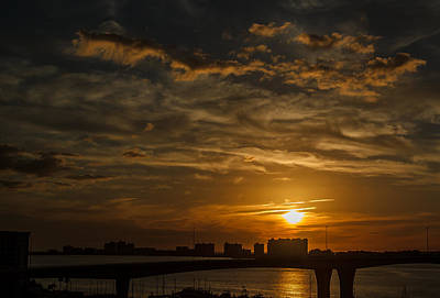Poster featuring the photograph Florida Sunset by Jane Luxton