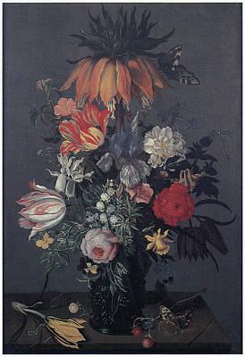 Flower Piece Poster by Johannes Bosschaert