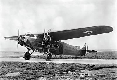 Fokker Tri-motor Airplane Poster