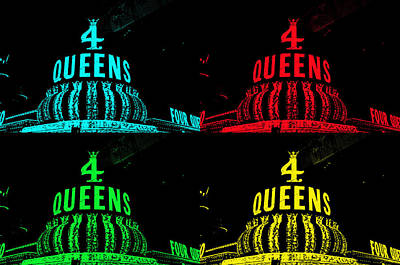 Four Queens Poster by Michael Anthony
