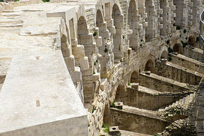 France, Arles, Roman Amphitheater Poster by Emily Wilson