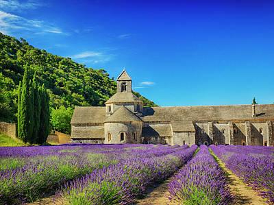 France, Provence, Senanque Abbey Poster