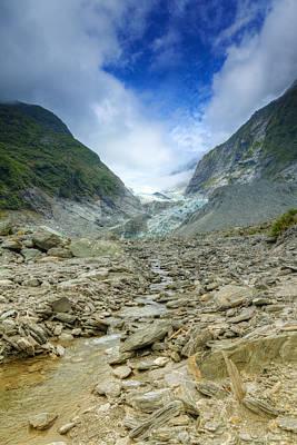 Franz Josef Glacier Poster by Alexey Stiop