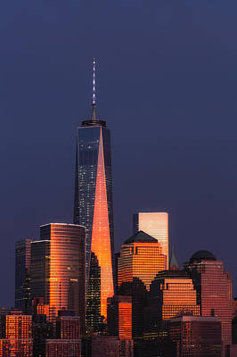 Freedom Tower Glow II Poster