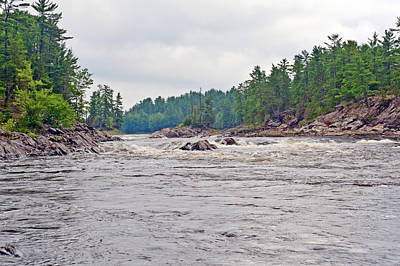 Poster featuring the photograph French River Ontario Canada by Marek Poplawski