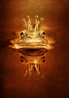 Frog Prince Poster by Heike Hultsch