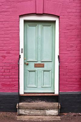 Front Door Poster by Tom Gowanlock
