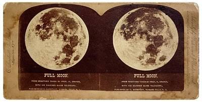 Full Moon Poster by Detlev Van Ravenswaay