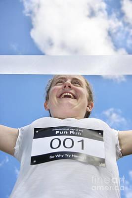 Fun Run Champion Poster
