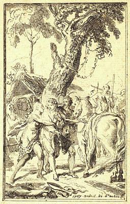Gabriel Jacques De Saint-aubin, French 1724-1780 Poster by Litz Collection