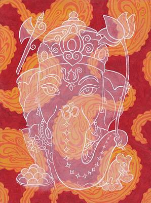 Ganesha Poster by Jennifer Mazzucco
