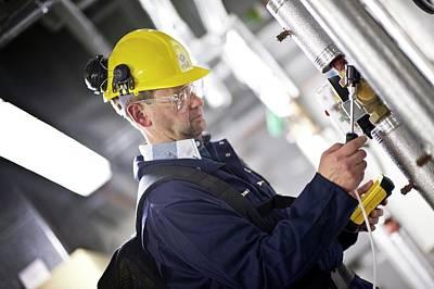 Gas Leak Monitoring Poster