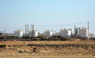 Gas Production Poster by Bildagentur-online/tschanz-hofmann
