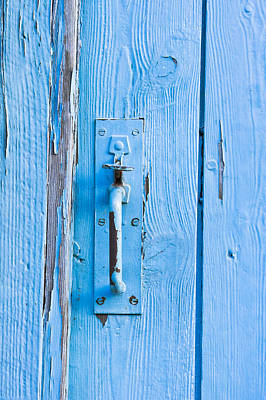 Gate Handle Poster by Tom Gowanlock