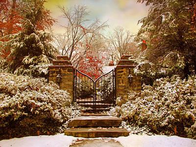 Winter Gates Poster by Jessica Jenney