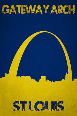 Gateway Arch Poster by Joe Hamilton