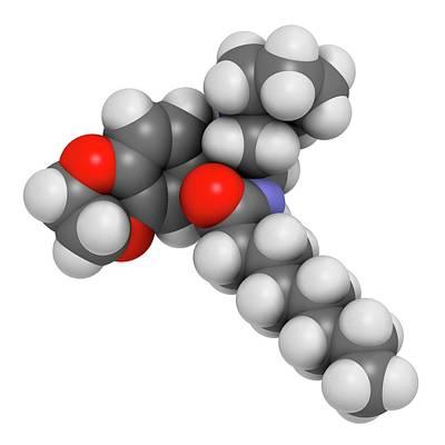 Gaucher Disease Drug Molecule Poster by Molekuul
