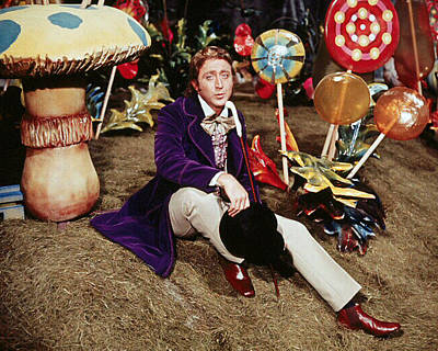 Gene Wilder In Willy Wonka & The Chocolate Factory  Poster by Silver Screen
