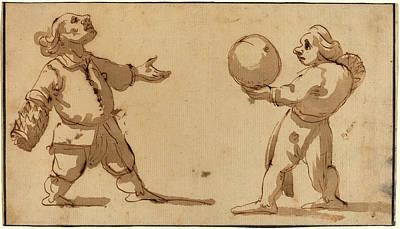 Giuseppe Maria Mitelli, Italian 1634-1718 Poster