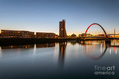 Glasgow Clyde Arc  Poster