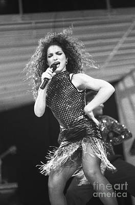 Gloria Estefan And The Miami Sound Machine Poster by Concert Photos