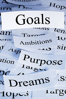Goals Concept Poster by Colin and Linda McKie