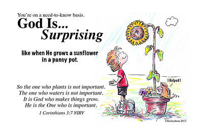 God Is Surprising Poster