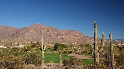 Gold Canyon Arizona Golf Poster