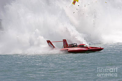 Poster featuring the photograph Gold Cup Hydroplane Races by Jim West