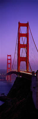Golden Gate Bridge San Francisco Ca Poster by Panoramic Images
