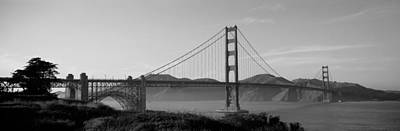 Golden Gate Bridge San Francisco Ca Usa Poster by Panoramic Images