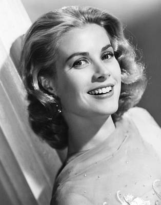 Grace Kelly, Mgm Portrait, Mid-1950s Poster