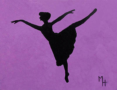 Graceful Arabesque Poster