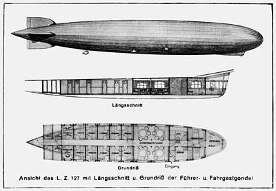 Graf Zeppelin Poster by Granger