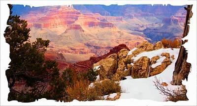 Grand Canyon Arizona Poster by Bob Pardue