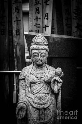 Graveyard Buddha Poster by Dean Harte
