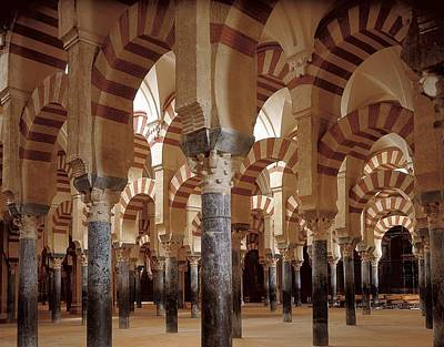Great Mosque Of Cordoba. 8th-9th C Poster
