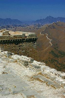 Poster featuring the photograph Great Wall Of China by Henry Kowalski