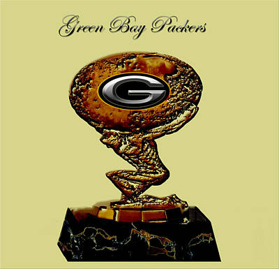 Green Bay Packers Poster by Brian Reaves
