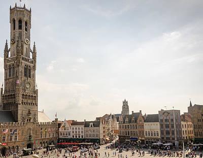 Grote Markt Brugge Poster