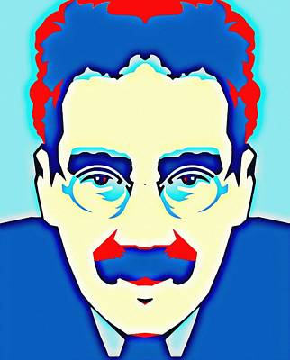 Groucho Marx Poster by Art Cinema Gallery