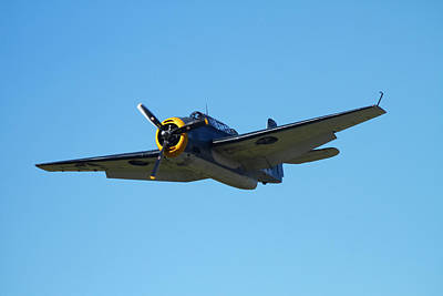 Grumman Avenger (with Folding Wings Poster by David Wall
