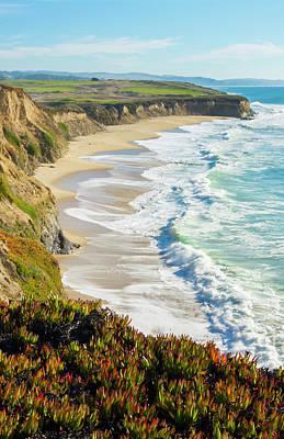 Half Moon Bay, California, Cliffs Poster