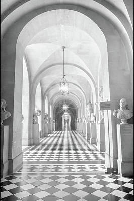 Hall At Versailles Poster by Ramona Murdock