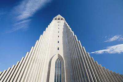 Hallgrimskirkja Poster by Ashley Cooper