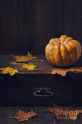 Halloween Pumpkin Poster by Jelena Jovanovic